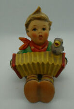 New ListingLet's Sing Hummel Goebel W Germany Boy with Accordian