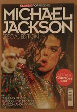 Classic Pop magazine Collectors edition Michael Jackson