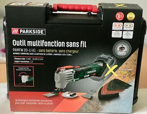PARKSIDE® outil multifonction 20V SANS FIL sans batterie et chargeur X TEAM 20V