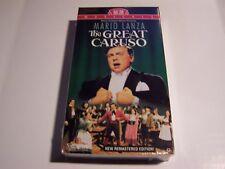 Mario Lanza  The Great Caruso  VHS Tape