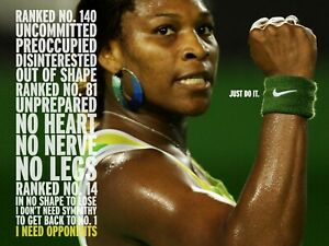 Serena Williams Reproduction archival quality photo