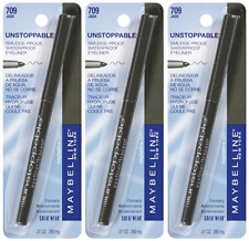 Maybelline New York Unstoppable Eyeliner Carded, Jade, 0.01 Ounce (3 Pack)