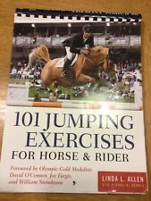 101 Jumping Exercises for Horse & Rider (Read & Ride) Linda Allen 2002 Paperback