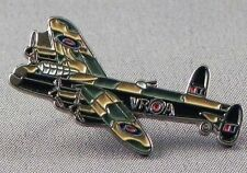 Lancaster Badge Lancaster Bomber Badge RAF WW2 Aeroplane Quality Enamel pin.