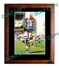 CAMERON LING GEELONG FC STAR 'SPECKY' LARGE A3 PHOTO
