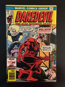 """Daredevil #131 """"Watch Out for Bullseye He Never Misses"""""""