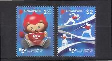 SINGAPORE 2015 8TH ASEAN PARA GAMES COMP. SET OF 2 STAMPS IN MINT MNH UNUSED