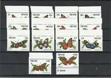 NEVIS, 1991 Schmetterlinge 572-85I **, (27490)