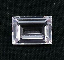 5.30 Ct AMAZING Natural Pink Kunzite Emerald Cut AGSL Certified Loose Gemstone