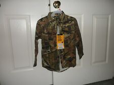 Youth Browning mossy oak Junior small hunting shirt  Breakup Infinity NWT New