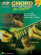 Chord Progressions for Guitar by Kolb, Tom | Sheet music Book | 9780634036286 |