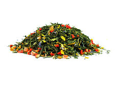 What a Wonderful Day Luxury Flavoured Green Loose Leaf Tea 50g Golden Pouch