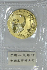 2002 China 1oz G500Y gold panda coin(Shanghai mint)