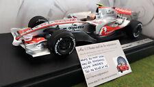 F1 McLAREN  MP4-22 HAMILTON 2007 1/18 HOT WHEELS MATTEL K6634 formule 1 voiture