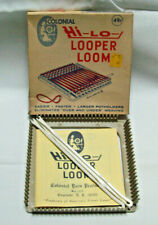 Colonial Yarn Products  Plastic Hi Lo Looper Loom for POTHOLDERS New in Box
