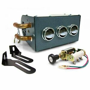 Gobi Compact Heater Deluxe Kit muscle cars streets rods rat rods hot rods fe ls