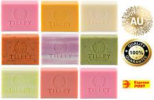 TILLEY VEGETABLE SOAP 100GM BARS - ROUGH CUT - NO MINIMUM BUY - EXP POST