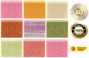TILLEY VEGETABLE SOAP 100GM BARS - ROUGH CUT - NO MINIMUM BUY - EXP POST*