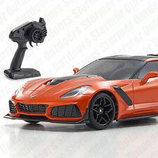Kyosho Mini-z RWD Chevrolet Corvette Zr1 Prêt Set Orange 32334or