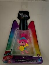 Trolls DreamWorks World Tour Poppy, Collectible Doll with Ukulele Accessory, Toy