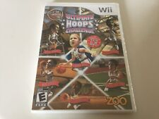 Hall of Fame: Ultimate Hoops Challenge (Nintendo Wii, 2010) Wii NEW!