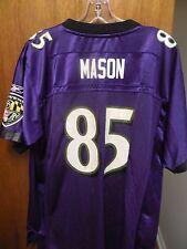 cb1bd64a0 BALTIMORE RAVENS NFL FOOTBALL JERSEY D. MASON YOUTH XL 18-20 PURPLE REEBOK