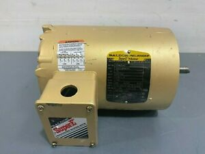 Baldor VENM3542 3/4HP 230/460V 60Hz 3 Phase Motor 1750RPM 56C Frame TENV