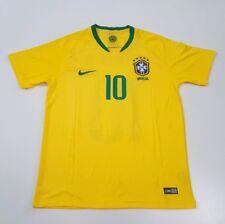 6a779a342 Nike Brasil CBF 2018 Stadium Home Neymar Jr  10 Jersey Soccer Size S