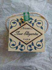 Midwest of Cannon Falls Modes Aux Elegantes Paris Metal Miniature Hat Box