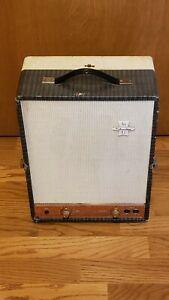 Silvertone Champ Tone 1950's Hi Fi Tube Amp Converted To Guitar Harp ShipWorldW