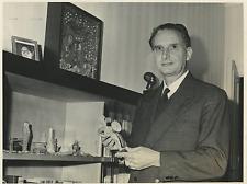 Italia, Professore Mario Gattoni Celli  Vintage silver print Tirage argentique