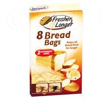 8 bolsas de pan mantiene los tamaños de pan fresco más almacenamiento bolsas de pan fresco sándwiches