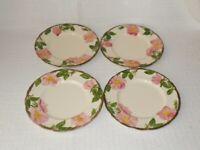 Franciscan Desert Rose Salad Plates Made in USA ~ Set of 4