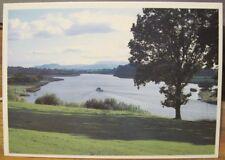 Irish Postcard River & LOUGH ERNE Fermanagh Northern Ireland Alan Johnston 4069