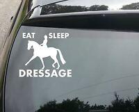 Eat, Sleep, Dressage Funny Van/Car JDM VW DUB VAG EURO Vinyl Decal Sticker