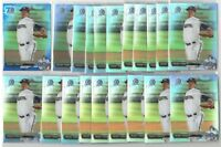 x435 Mixed FREDDY PERALTA Rookie Card RC lot/set x26 Refractor Milwaukee Brewers