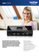 Brother ADS-1100W Dokumentenscanner *NEUWERTIG, OVP*