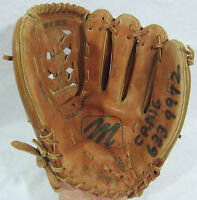 """MacGregor MAC8 Youth 11.5"""" Leather Baseball Glove - Right Hand Thrower"""