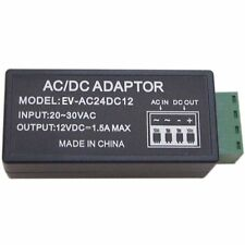 4x Power Supply Voltage Converter - 24VAC to 12VDC 1.5 A