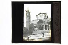 Saint-Gilles Cathédrale Plaque de projection pour Lanterne Magique