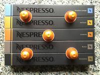 50 Original Nespresso Kapseln (5 Stangen), freie Auswahl aus allen 24 Sorten