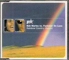 MAXI CD SINGLE 5 TITRES--BOB MARLEY VS FUNKSTAR DE LUXE--RAINBOW COUNTRY--1971