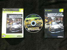 JEU Microsoft XBOX : WRECKLESS THE YAKUZA MISSIONS (courses COMPLET envoi suivi)