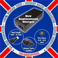 19V 4,74 A Toshiba PA3516E-1AC3 ac adapter power supply