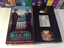 Steal Big Steal Little Rare Comedy VHS 1995 OOP HTF Andy Garcia Alan Arkin