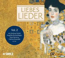 Felix Mendelssohn : Liebeslieder - Volume 2 CD (2016) ***NEW*** Amazing Value