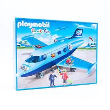 Playmobil 9366 - Family Fun Flugzeug / Ferienflieger 2017 mit Figuren NEU / OVP
