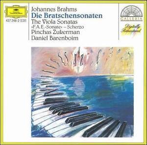 Brahms: Die Bratschensonaten (CD, Nov-1992, Deutsche Grammophon)