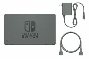 Nintendo Switch Charging Dock + AC Adapter Power Cable HDMI CABLE Set TV