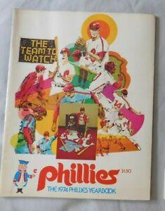 1974 Philadelphia Phillies Yearbook